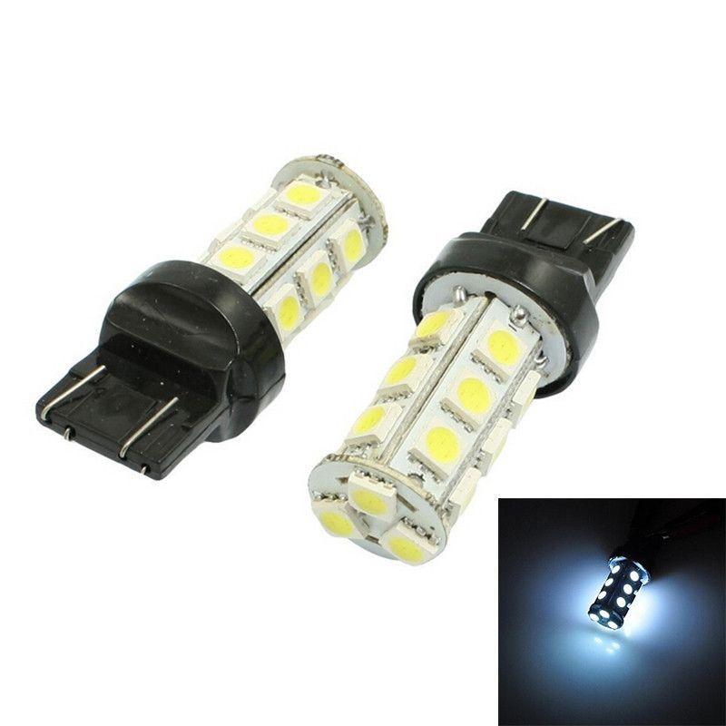 Lampada T20 3157 18 Leds Um Polo