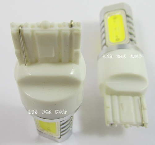Lampada T20 7440 Ré 6w Led Luz Efeito Xenon 4 Leds