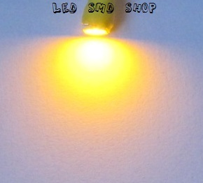 Lâmpada T4.7 1 Led SMD Painel Ambar