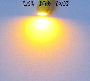 Lampada T5 1 Led Smd Esmagadinha Painel 5mm W2 Mosquito Ambar