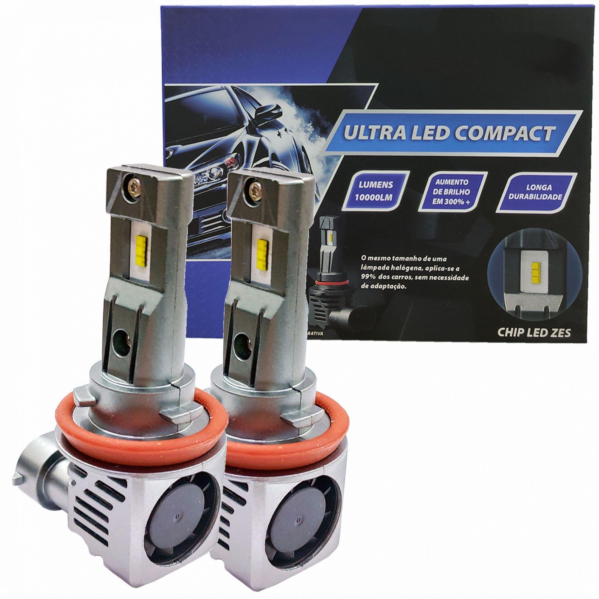 Lampada Ultra LED Compact Chip ZES 6000K H8 H9 H11