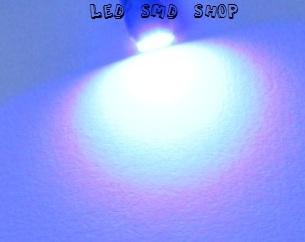 Lâmpadas Pingo 1 Led T10 W5w Esmagadinha Azul