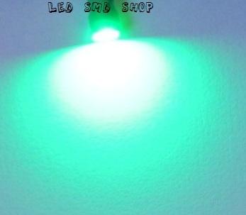 Lâmpadas Pingo 1 Led T10 W5w Esmagadinha Verde