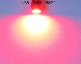 Lâmpadas Pingo 1 Led T10 W5w Esmagadinha Vermelho