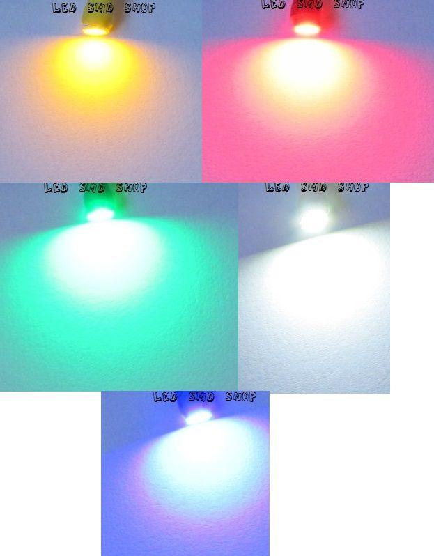 Led Painel Carro Lâmpada T4.2 10mm 1 Led Smd Kit C/10 Atacado