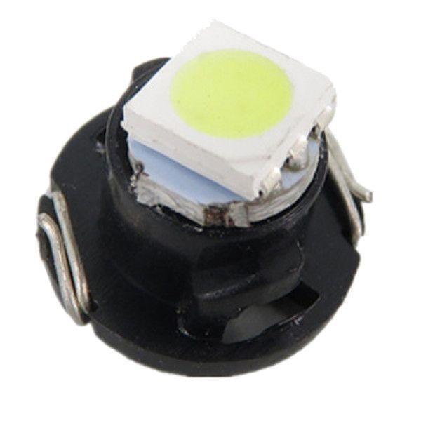 Led Painel Carro Lâmpada T4.7 12mm 1 Led Smd Kit C/10 Atacado