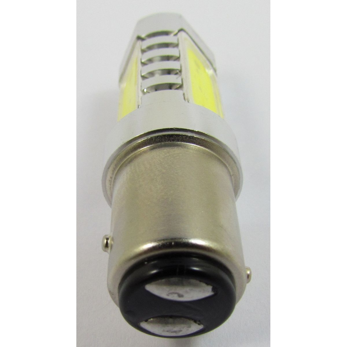 Par Lampada 1157 6w Led Dois Pólos Lanterna Freio Luz