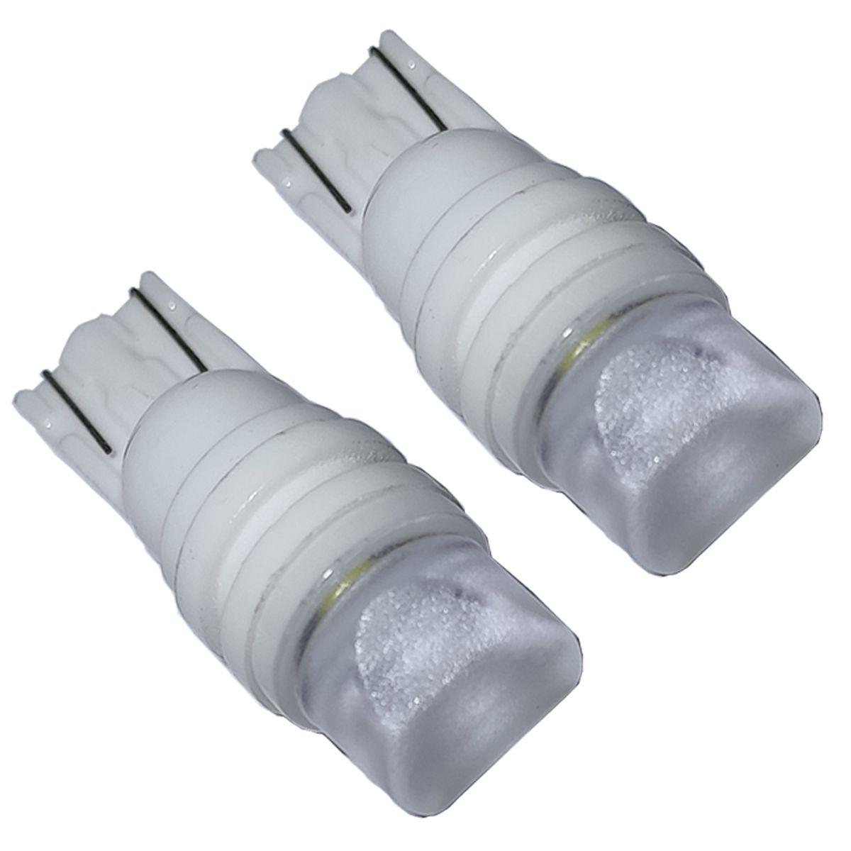 Par Lâmpada LED T10 3 CREE C/ Lente