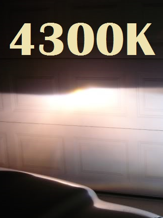 Par Lampada Xenon Reposição 35w H8 4300K