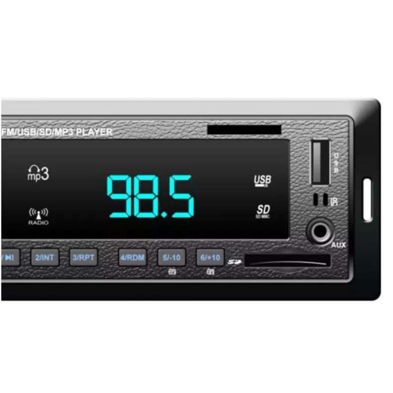 Rádio MP3 Player D-MAX D-1073 BT C/ Bluetooth Som Carro Automotivo
