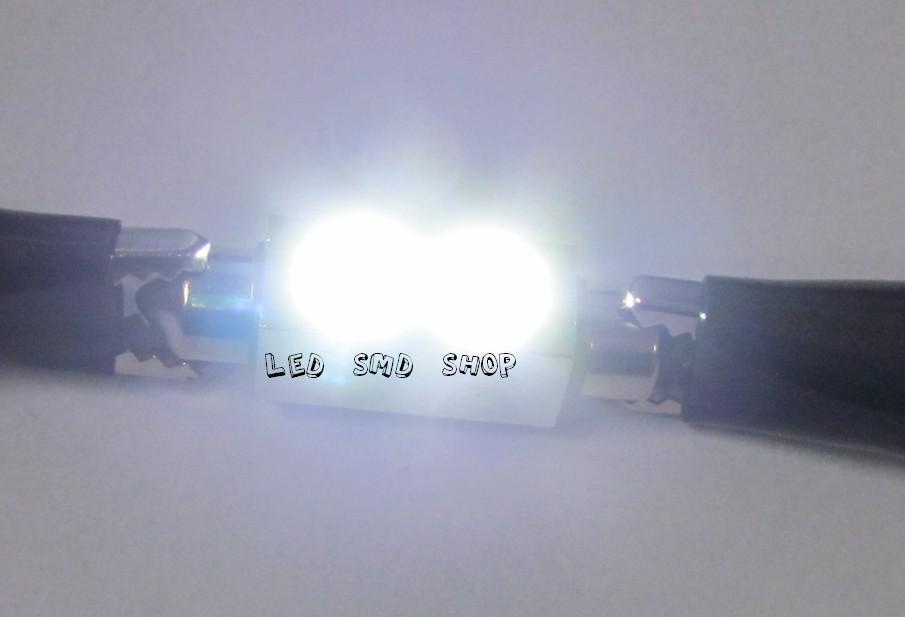 Torpedo 39mm 2 Leds 2w Luz Cortesia Placa Teto Xenon Lampada