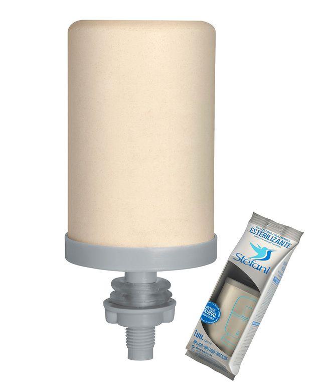 Filtro Purificador de Água Stefani Cristal 8 Litros  - CN Distribuidora