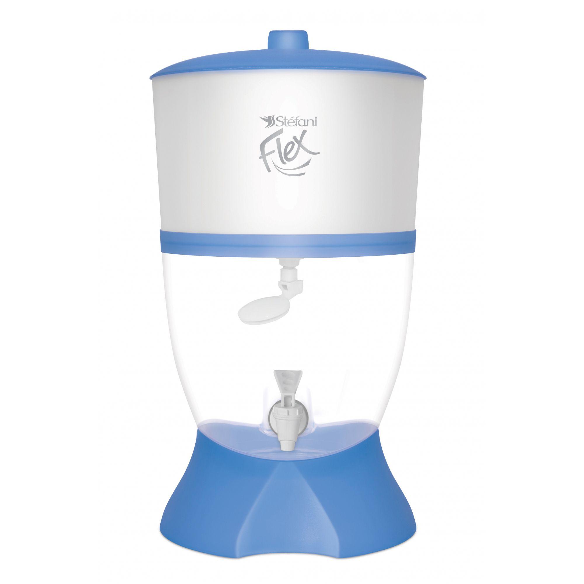 Filtro Purificador de Água Stefani Flex Azul 1v 6L  - CN Distribuidora