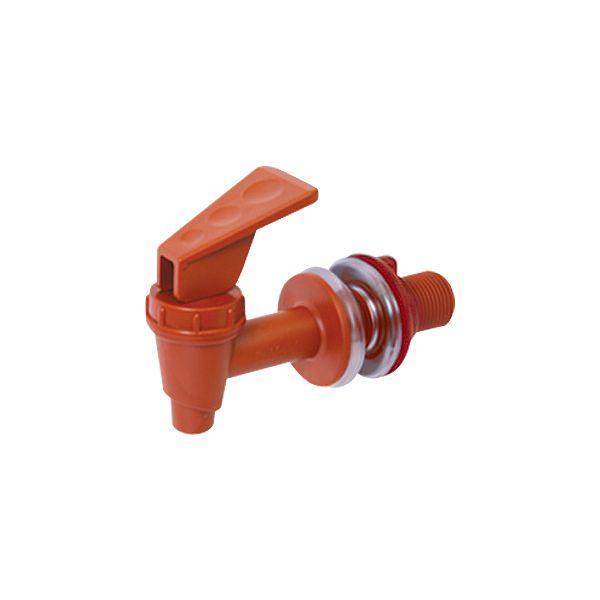 Torneira Clic Marrom para Filtros  - CN Distribuidora