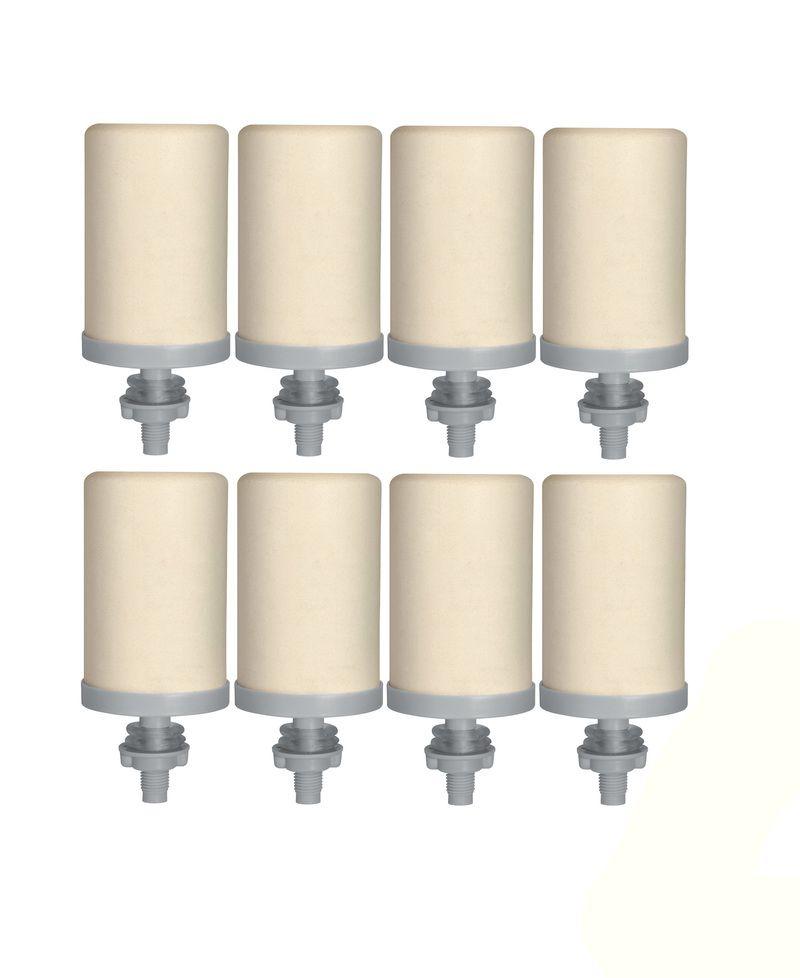 Vela Filtro Stefani Tripla Ação 08 unidades  - CN Distribuidora