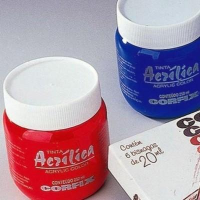 Acrílica Corfix 250ml - Gr1