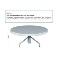 Base de Mesa para Modelagem e Pintura Cerâmica - 33cm