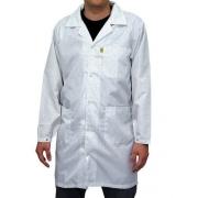 Avental Jaleco Antiestático Branco GG