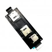Cabo Flex Asus Zenfone 2 ZE551ML Sim Card / Memoria