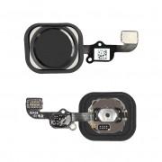 Cabo Flex iPhone 6G A1549 A1586 A1589 Botão Menu Home Preto