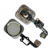 Cabo Flex iPhone 6S A1633 A1688 A1700 Botão Home Prata