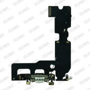Cabo Flex iPhone 7 Plus Conector Carga Branco e Microfone