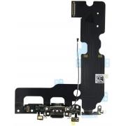 Cabo Flex iPhone 7 Plus Conector Carga Preto e Microfone