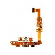 Cabo Flex LG E450 L5 II Conector Carga e Microfone
