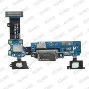 Cabo Flex Samsung G900 S5 Conector Carga e Microfone Versão M