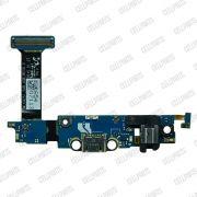 Cabo Flex Samsung G925 S6 Edge Conector Carga e Microfone Versão M