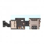 Cabo Flex Samsung N915 Note 4 Edge Leitor Sim Card / Micro SD
