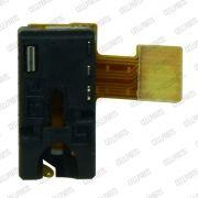 Cabo Flex Sony Xperia T2 D5303 D5306 D5322 Conector Fone P2