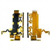 Cabo Flex Sony Xperia Z1 C6943 L39H Botão Power Volume e Microfone