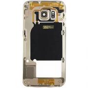 Carcaça Aro Lateral Samsung S6 G920 G920i Dourada