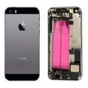 Carcaça Iphone 5 A1428 A1429 A1442 Cinza c/ Flex