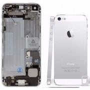 Carcaça Iphone 5 A1428 A1429 A1442 Prata c/ Flex
