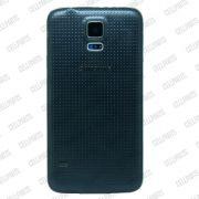 Carcaça Samsung G900 S5 c/ Alto Falante e Botões Laterais Grafite