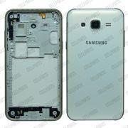 Carcaça Samsung J500M-DS J500 c/ Botões Laterais Branca