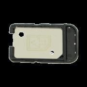 Gaveta Sim Card iPhone 7 Plus Prata