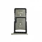 Gaveta Sim Card Motorola Moto X Force XT1580 XT1585 Prata