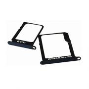 Gaveta Sim Card Samsung A800 A8 Sim 1 e 2 Preta