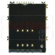 Leitor Conector Sim Card Samsung i8530 S5750 S5250