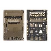 Leitor Sim Card / Micro SD LG K430 K10