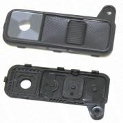 Lente Camera Moldura LG K8 K350 Preto
