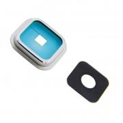 Lente Camera Samsung G900 i9600 Prata
