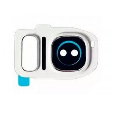 Lente Camera Samsung G930 S7 Branca