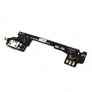 Placa Conector Carga / Microfone Alcatel 6045 Idol 3