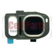 Lente Camera Samsung G930 S7 Dourada