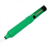 Sugador de Solda Plastico Verde DS809