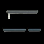 Vedação Lateral Micro USB Sony Xperia Z3 D6633 D6643 Preta